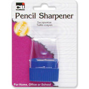 CLI® Pencil Sharpener, w/ Cone Receptacle, Assorted