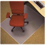 "Lorell® Diamond Anti-Static Office Chair Mat, 60""L x 46""W, 0.75"" Thick, Clear"