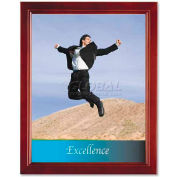 "Lorell® Document Frame, 31883, 8-1/2"" X 11"", Solid Wood, Walnut"