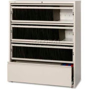 """Lorell 4-Drawer Lateral File, LLR43514, 42""""W, Putty"""