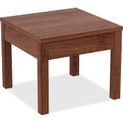 Lorell Occasional Corner Table - Walnut
