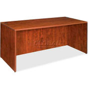 "Lorell® Rectangular Desk Shell - 60""W x 30""D x 29-1/2""H - Cherry - Essentials Series"