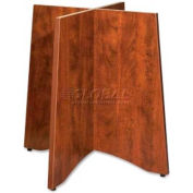 "Lorell 69000 Series Laminate Base , LLR69436, For 42""/48"" Tables, Cherry"