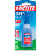 Loctite Super Glue, Liquid Professional, Fast Set, .71 oz., Clear