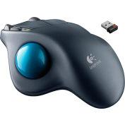 Logitech 910-001799 M570 Wireless Trackball, Silver/Blue