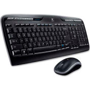 "Logitech Wireless Desktop Keyboard/Mouse, LOG920-002836, 19"" x 7-5/8"" x 1"", Wireless Connectivity"