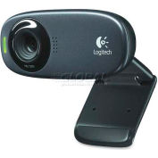 Logitech HD Webcam, LOG960-000585, 1280 x 720 Video, Black