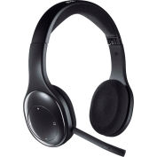 Logitech Wireless Headset, 981000337, 2.4GHz, Black