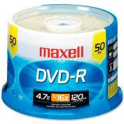 Maxell DVD Recordable Media, MAX638011, DVD-R Media, 16x Speed, 4.70 GB Capcity