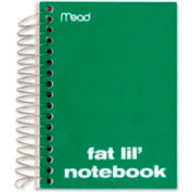 """Mead® Notebook, College Ruled, 200 Sheets, 5-1/2""""x4"""", Assorted"""
