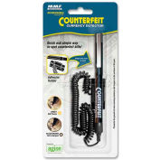MMF Counterfeit Detector Pen 200045204, Black Barrel, Magnetic Ink