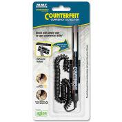 MMF Counterfeit Detector Pen, MMF200045204, Black Barrel, Magnetic Ink, 1/Pk