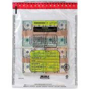 MMF FRAUDSTOPPER Tamper-Evident Currency 4-Bundle Bag 2362005 - 15 x 20 Clear, Price per 250 Bags