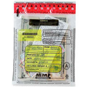"MMF FRAUDSTOPPER Tamper-Evident Deposit Bag 2362011N20 - 12""W x 16""H Clear, Price per 100 Bags/Box"