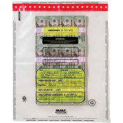 "MMF Tamper-Evident Bundle Bag, MMF2362035N20, 20"" Width x 28"" Length - 5 mil Thickness, Clear"