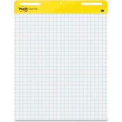 "Post-it Self-Stick Easel Pad - 30 Sheet - Quad Ruled - 25"" x 30"" - White Paper"