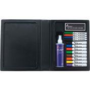 SKILCRAFT 12-Color Dry Erase Marker System - Assorted - 12/Set