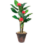 Nu-Dell® Artificial Flowering Banana Tree, 7' Tall