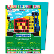 """Pacon® Riverside Groundwood Construction Paper, 12""""x9"""", Green, 50 Sheets"""