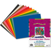 """Pacon® Rainbow Super Value Construction Paper, 12""""x18"""", Assorted, 100 Sheets"""