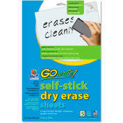 Pacon Dry-Erase Sheet, 5/Pack