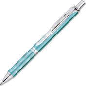 Pentel® Gel Pen, Aquamarine Ink, Aqua Marine Barrel, 1 Each