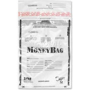 "PMC SecurIT Plastic Disposable Deposit Money Bag, PMC58004, 12"" Width x 16"" Length, Clear"