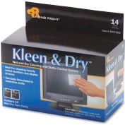 Read Right® Kleen & Dry Screen Cleaning Pads, 14/Box - REARR1205