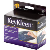 Read Right® Key Kleen Swabs, RR1243, Pre-Moistened, 24/Box