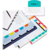 Redi-Tag Laser Index Tab/Blank, 375 Tabs, White/Multicolor