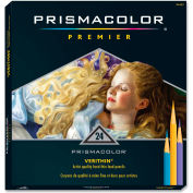 Prismacolor Verithin Colored Pencil, Assorted Lead, Assorted Barrel, 24/Set