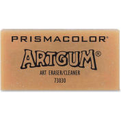 "Sanford® Artgum Eraser, Nontoxic, 2""x1-7/8"", Light Brown"