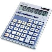 """Sharp® 12-Digit Executive Desktop Calculator, EL2139HB, Dual Power, 5-1/2"""" X 7-7/8"""" X 1"""""""