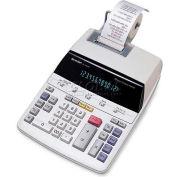 "Sharp® 12-Digit Calculator, EL2192RII, 2 Color Printing, 8-1/8"" X 10-1/8"" X 2"", Beige"