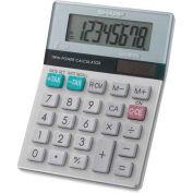 "Sharp® 8-Digit Desktop Calculator, EL310TB, Dual Power, 3-1/2"" X 4-2/3"" X 1-1/10"", Green/White"