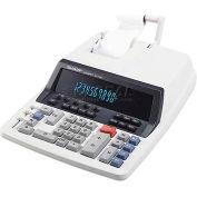 "Sharp® 10-Digit Commercial Calculator, QS1760H, 2 Color, 9-7/8"" X 12-1/2"" X 3"", Light Grey"