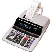 "Sharp® 12-Digit Calculator, VX2652H, 2 Color Printing, 9-1/2"" X 12-1/2"" X 2-2/3"", Grey"