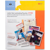 "Sparco Laminating Pouch for  Letter 9"" x 11-1/2"" 3  Mil Clear 50 Pack"