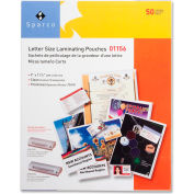 "Sparco Laminating Pouch for  Letter 9"" x 11-1/2"" 5  Mil Clear 50 Pack"