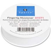 Fingertip Moistener, Nonskid Back, 1-3/4 oz.