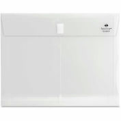 String A Long Poly Hide Envelopes, Side Open, Letter, Clear