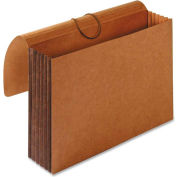 "Accordion Wallets, Letter, 5-1/4"" Exp, 12-3/8""x10"", Brown"