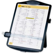 "Easel Document Holders, Adjustable, 10""x2""x14"", Black"