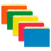 Hanging File Folders, 1/3 Cut, Letter, 20/Pk, Assorted