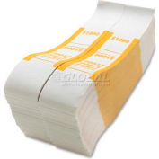 Sparco Color-Coded Quick Stick Currency Band BS1000WK $1000 in $10 Bills Yellow, 1000 Bands/Pack