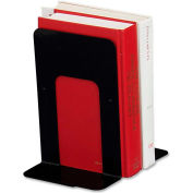 "Book Supports W/Poly Base, 6""x8-1/2""x9"", Black"