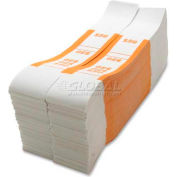 Sparco Color-Coded Quick Stick Currency Band BS50WK $50 in Dollar Bills Orange, 1000 Bands/Pack