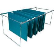 Hanging File Folder Frames, Legal, 6/Box, Stainless Steel