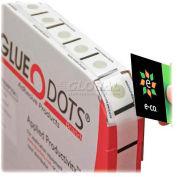 Tatco Glue Dots, 60200, Permanent, Non-Toxic, 4000/Pk, Clear