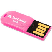 Verbatim® Micro USB Drive, 47424, 2.0, 8GB, Pink